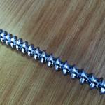 highly polished auger